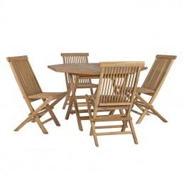 Набор мебели ROSY: стол и 4...